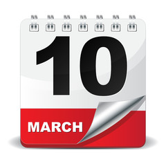 10 MARCH ICON