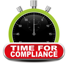 TIME FOR COMPLIANCE ICON