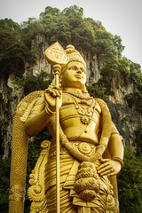 guardian of the batu cave