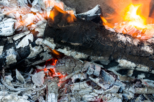 abstract background burning coals. texture