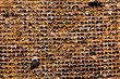background of old rusty iron