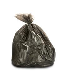 Litter pack on white background