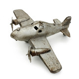 Avion jouet en fer blanc - Tin toy airplane