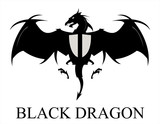 Black Dragon,  Spreading Wings
