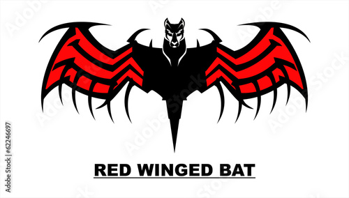 Bat with the Red Wings