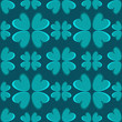 Holiday St. Patrick's Day seamless pattern with four leaf lucky
