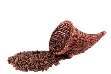 Coffee Cornucopia Landscape Side
