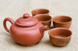 Brown Tea Set