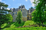 France,  picturesque castle of Fayrac