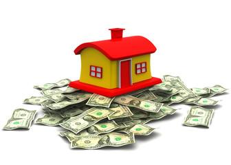 3d house on dollar ..