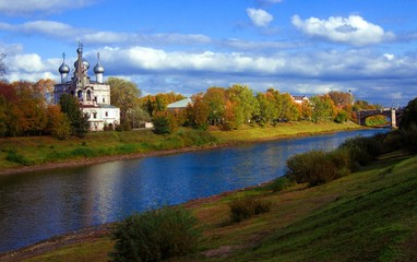 Autumn in Vologda
