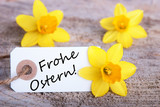 Tag with Frohe Ostern