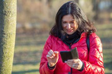 Mit dem Smartphone unterwegs