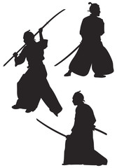 Samurai Silhouettes