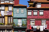 Porto - typical colorful buildings of the Ribeira District
