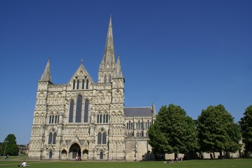 Cathedral church of the blessed virgin Mary,Salisbury