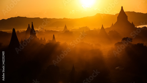 Sunset in Myanmar