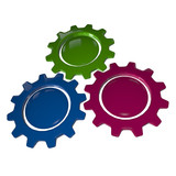 Gear Wheel - BGP & White