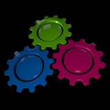Gear Wheel - BGP & Black