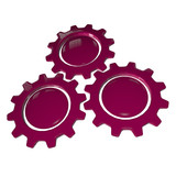 Gear Wheel - Pink & White