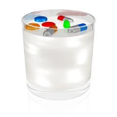 Medikamente bei der Milchproduktion