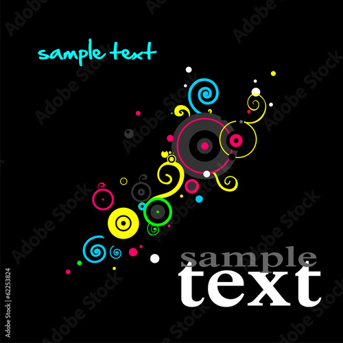 Dark background with abstract pattern