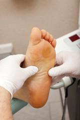 Entspannen bei einer Fußmassage