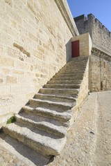 Stair, Aigues Mortes, southern France.