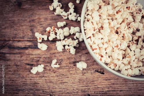 Foto op Plexiglas Aromatische Popcorn