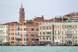 Buildings in front of Grand canal. Venice, Italy.
