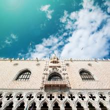 Palais des Doges, patrimoine mondial de l'unesco. Venise, Italie.