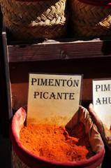 Pimentón picante, venta de especias