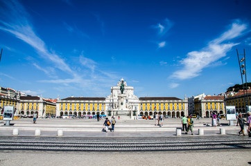The Praça do Comércio (Commerce Square)