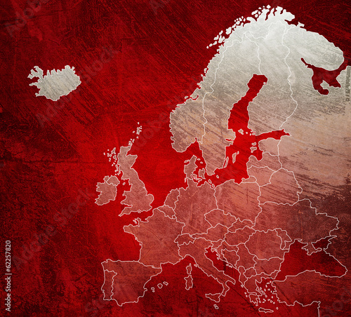 european red map