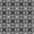 Design seamless monochrome decorative flower pattern. Abstract e