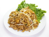 Thailand s national dishes, stir-fried rice noodles  Pad Thai