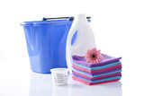 cotton spa towels and washing detergents