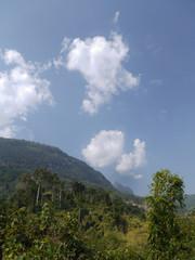 Jungle, mountains. Muang Ngoi, LAO