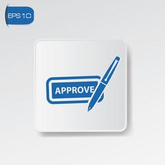 Approve symbol,vector