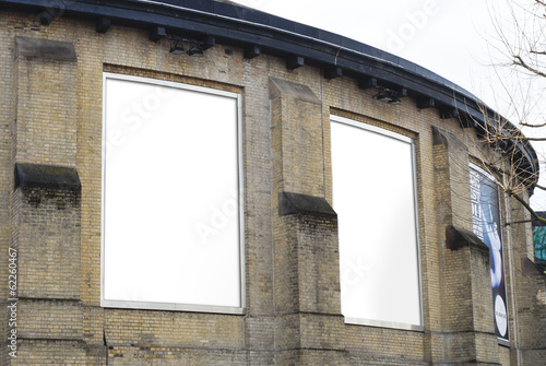 Aluminium Theater Outdoor Advertising Poster RoundHouse Venue Camden London