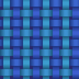 Seamless geometric twisted pattern. Vector texture
