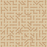 Background with circuit board pattern. Seamless vector texture
