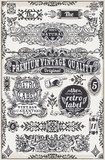 Fototapety Vintage Hand Drawn Graphic Banners and Labels Vector