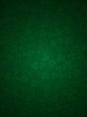 green background with shamrocks, vector illustration