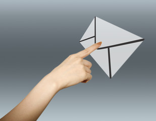 メールと手