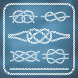 Nautical rope knotes