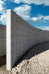 muro di divisione