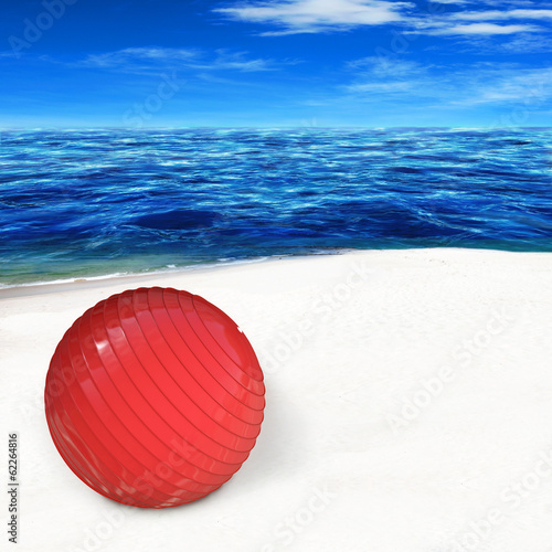 Pilates Ball - 3d Render