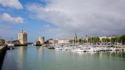 La Rochelle port, France