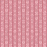 pink striped vintage pattern with lilies